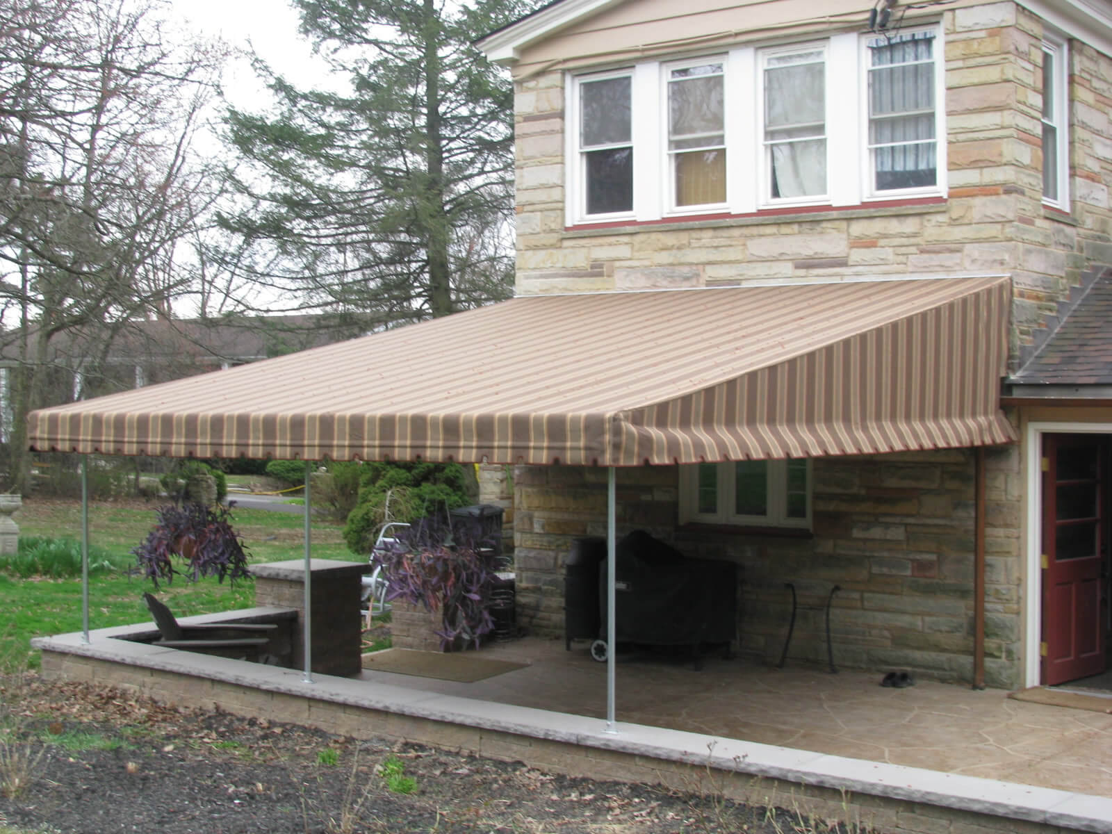 Custom Residential Awning From Mid State Inc
